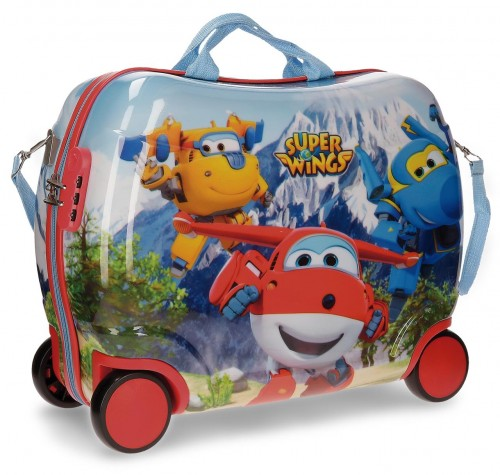 2149961 maleta infantil 4 ruedas super wings mountain