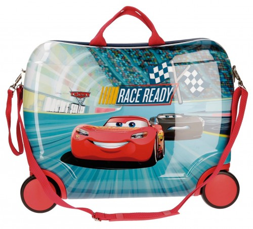 21599C1 Maleta infantil 4 ruedas cars race