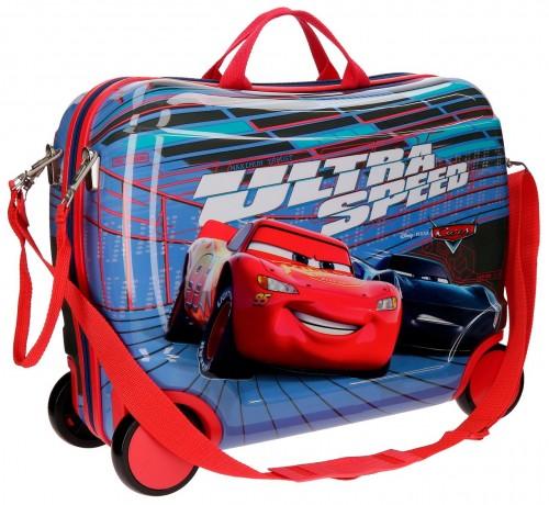 22899C1 maleta infantil correpasillos cars ultra speed