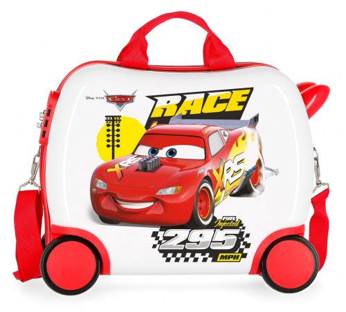 2391063 maleta infantil 41 cm 4 ruedas joy cars
