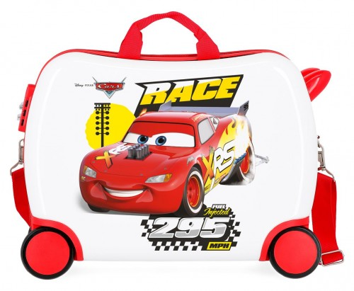 2399963 maleta infantil 50 cm 4 ruedas joy cars