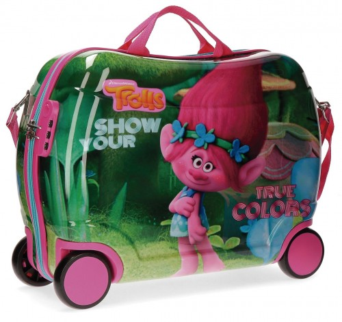 2759951 maleta infantil trolls true colors