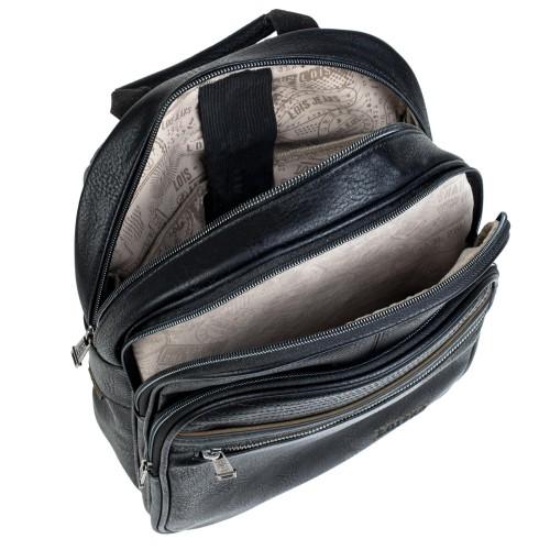 30533601  Mochila mediana 36 cm portaordenador lois granite negro