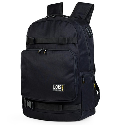 30543701 mochila grande 45 cm portaordenador Lois DILINGHAM negro
