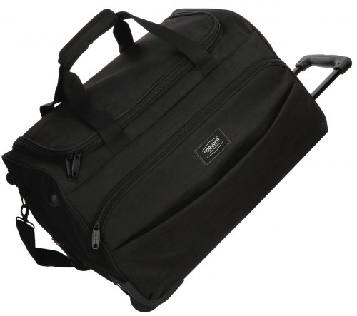 5293761 bolsa viaje 55 cm con ruedas ottawa negra