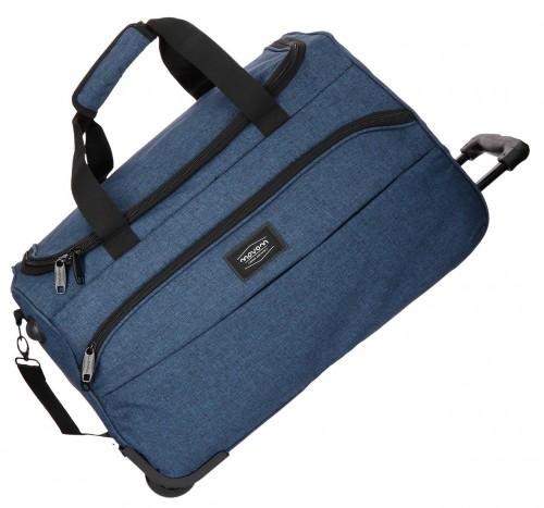 5293762 bolsa viaje 55 cm con ruedas ottawa azul