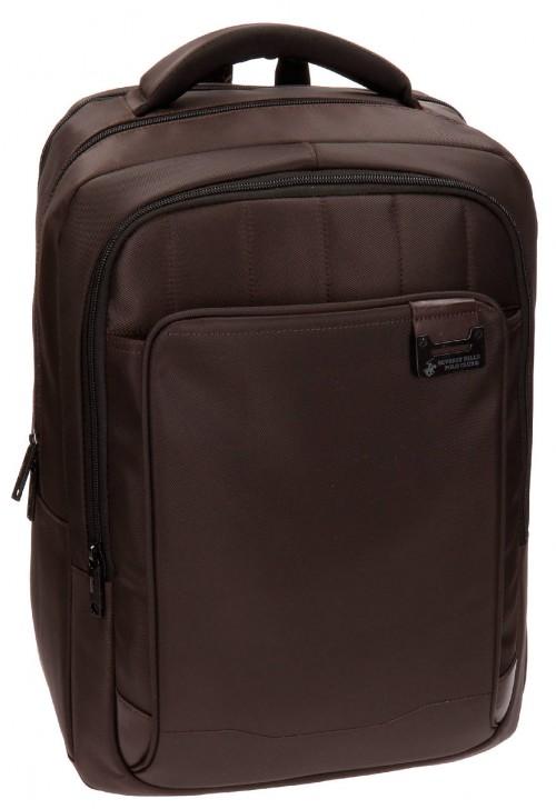 5332552 mochila portaordenador polo club  marrón