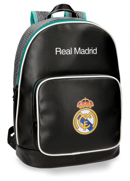 5372362 Mochila del Real Madrid para portatil  adaptable a trolley Negra