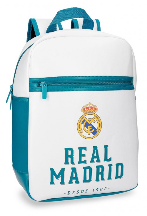 5382261 mochila 36 cm adaptable portaordenador real madrid