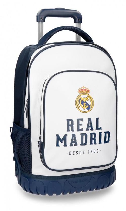 5382962 mochila compacta real madrid gol 2 ruedas
