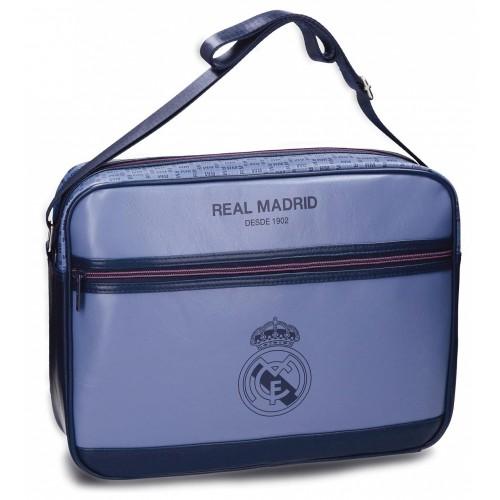 5455061 bandolera portaordenador realmadrid blue