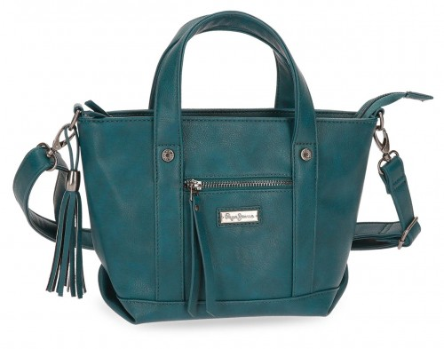 7025666 bolso pepe jeans croc verde