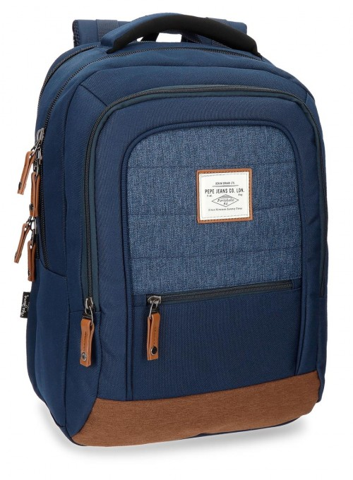 "7282761 mochila portaordenador 15.6"" pepe jeans"
