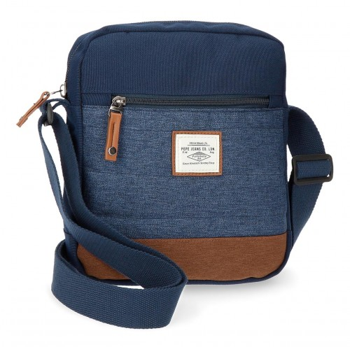 7285661 bandolera pepe jeans 26.5 cm azul