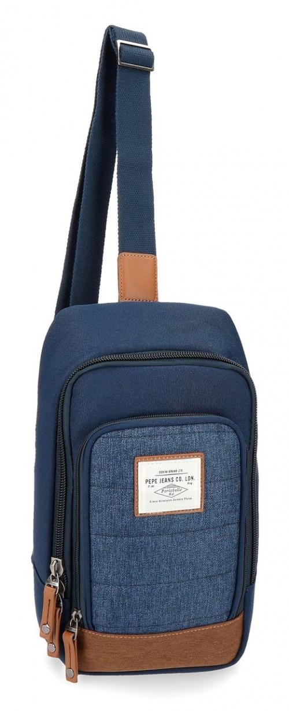 7285961  bandolera cruzada pepe jeans azul