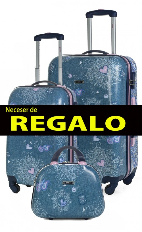Juego Maleta Cabina y Mediana  SKAPA T 54700