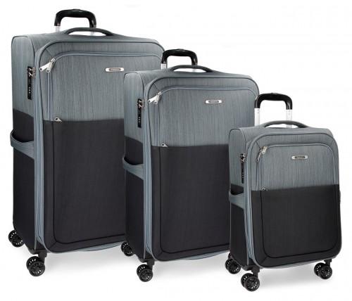 5349461 Set de maletas Movom colección Tucson Gris