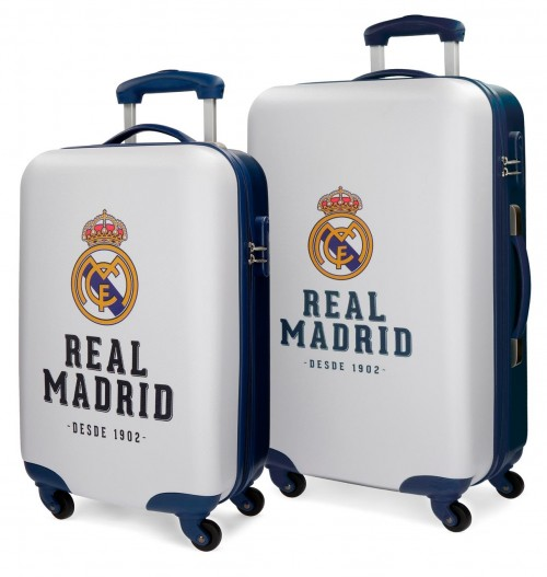 5381662 juego maletas cabina y mediana real madrid gol marino