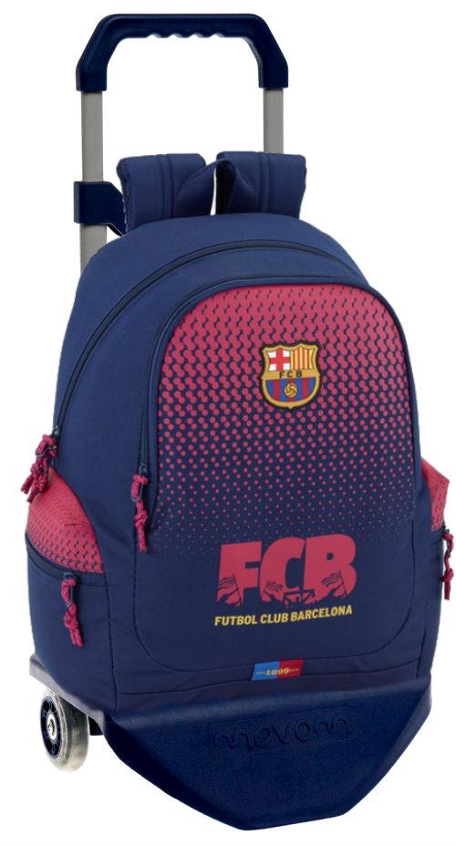 611825313c mochila barcelona bolsos laterales con carro premium