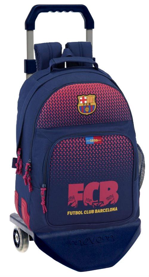 611825773C mochila reforzada doble con carro barcelona