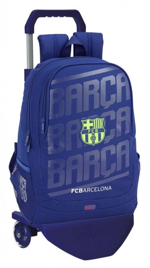 611826665 C mochila grande del barcelona con carro premium