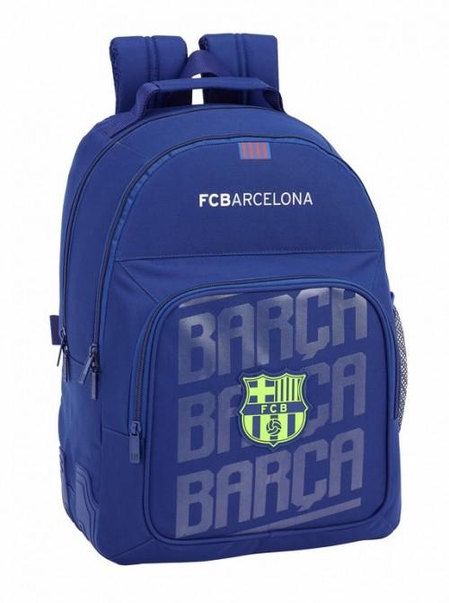 611826773 mochila doble compartimento reforzada del  barcelona