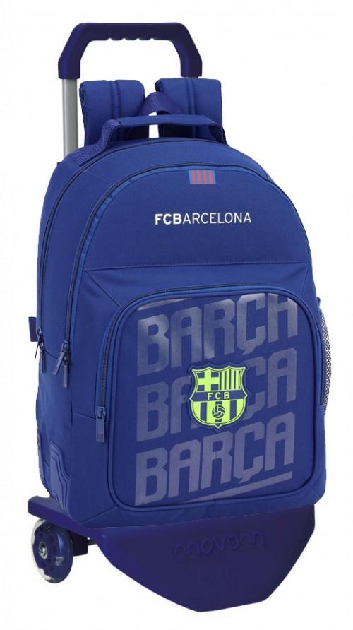 611826773C mochila doble reforzada con carro barcelona