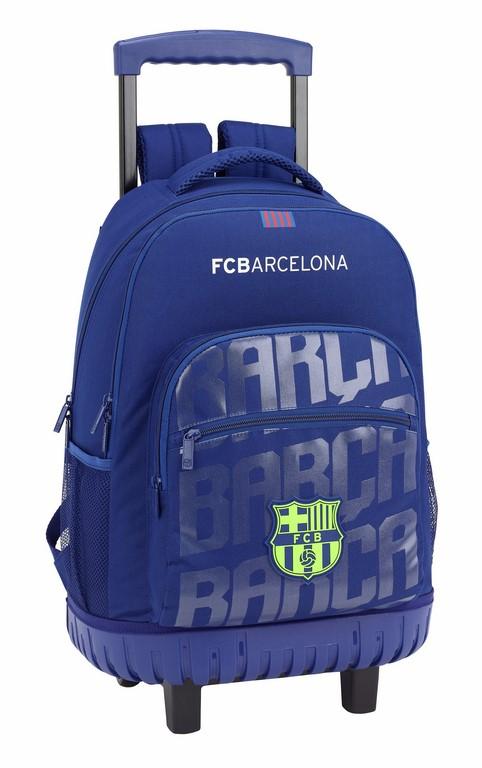 611826818 mochila compacta con ruedas reforzada del barcelona