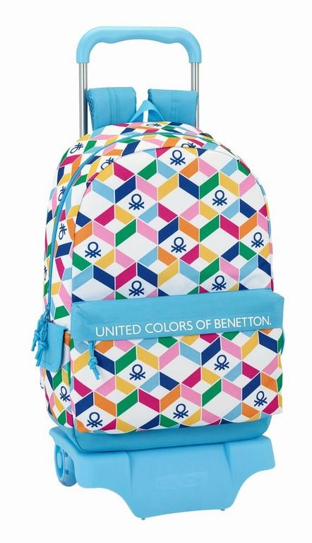 611852160 mochila con carro benetton geometric