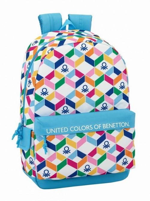 611852758 mochila benetton geometric