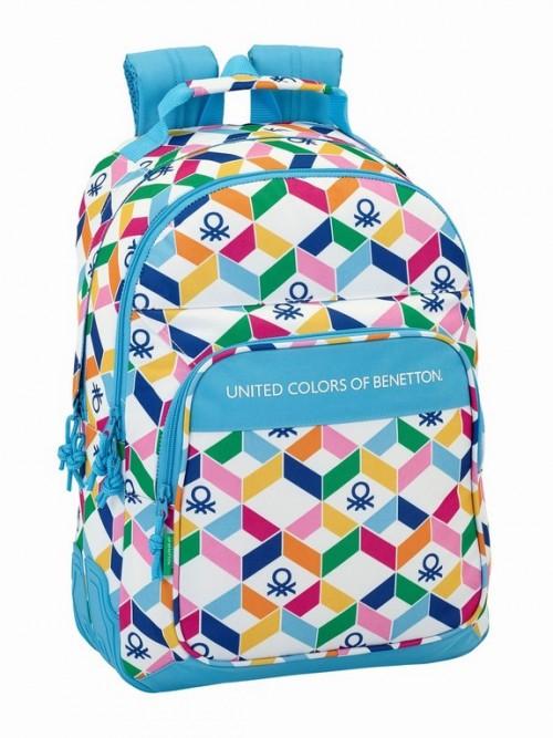 611852773 mochila reforzada benetton geometric