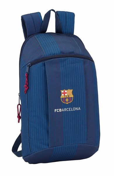 641809821 MINI MOCHILA ESTAMPADA FCB BLUE