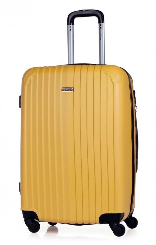 T71560 maleta mediana mostaza