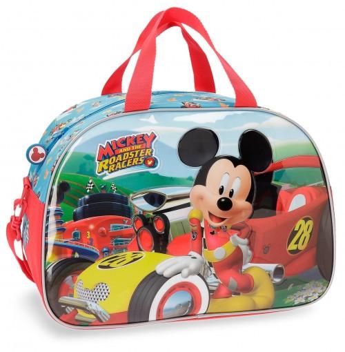 2223261 bolsa de viaje mickey racers con asa y bandolera