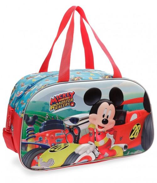 2223361 bolsa viaje 44 cm mickey roadster racers