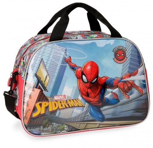 2253261 bolsa de viaje 40 cm spiderman grafiti