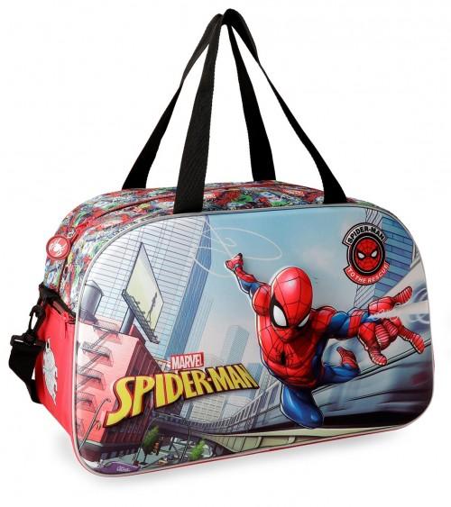 2253361 bolsa de viaje 45 cm spiderman grafiti