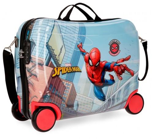 22599C1 maleta infantil correpasillos spiderman grafiti