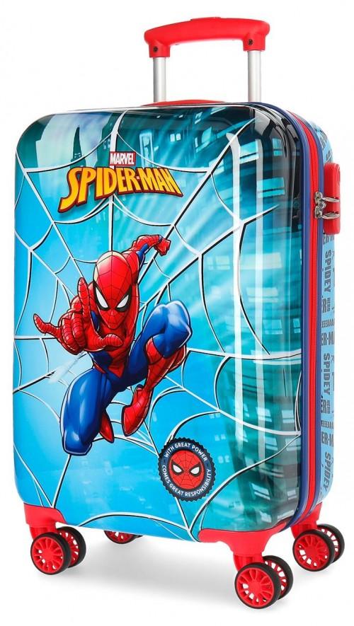 2381461 maleta cabina 4 ruedas spiderman street
