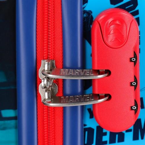 2381461 maleta cabina 4 ruedas spiderman street  cerradura combinación