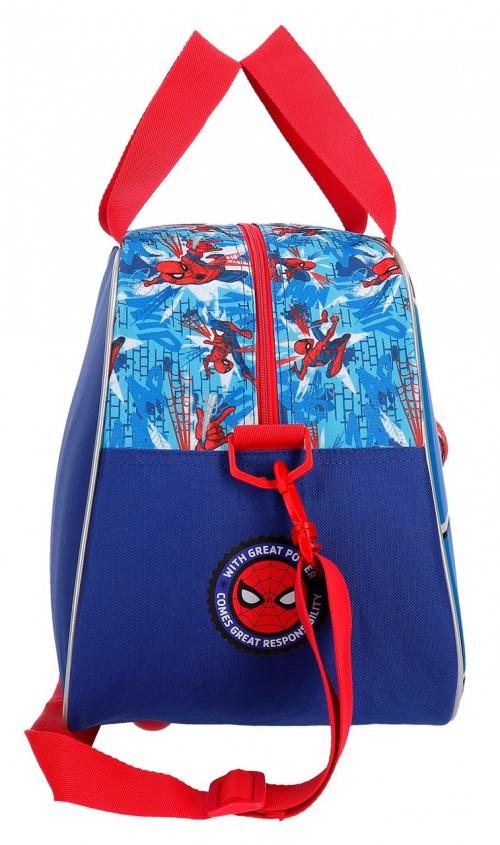 2383261 bolsa de viaje 40 cm spiderman street lateral
