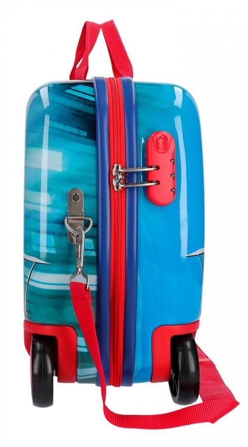 2389861 maleta infantil correpasillos spiderman street lateral