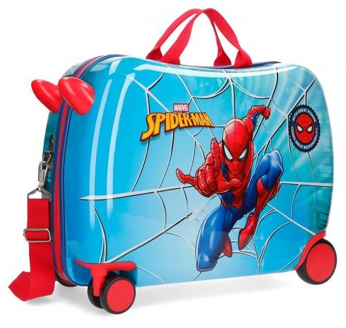 2389861 maleta infantil correpasillos spiderman street