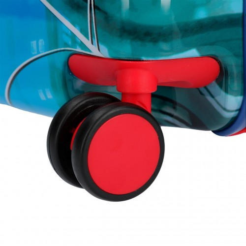 2389861 maleta infantil correpasillos spiderman street  ruedas multidireccionables