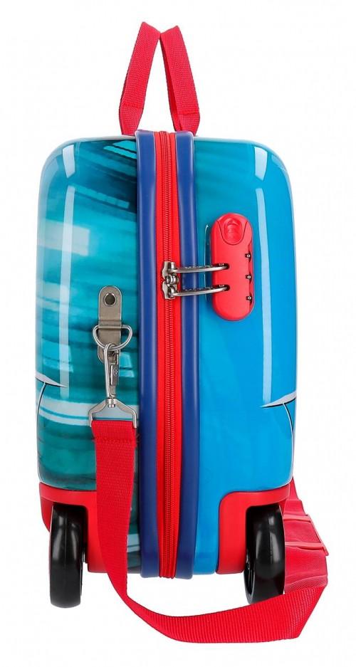 2389961 maleta infantil correpasillos spiderman street lateral