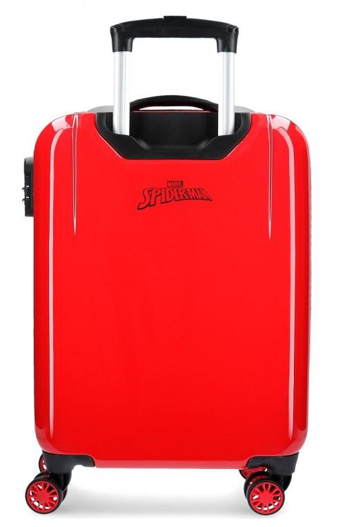 2411761 maleta de cabina 4 ruedas spiderman geo2411761 maleta de cabina 4 ruedas spiderman geo trasera