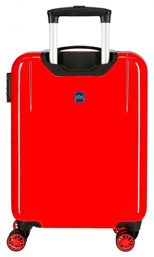 2411762 maleta cabina 4 ruedas spiderman geo rojo trasera
