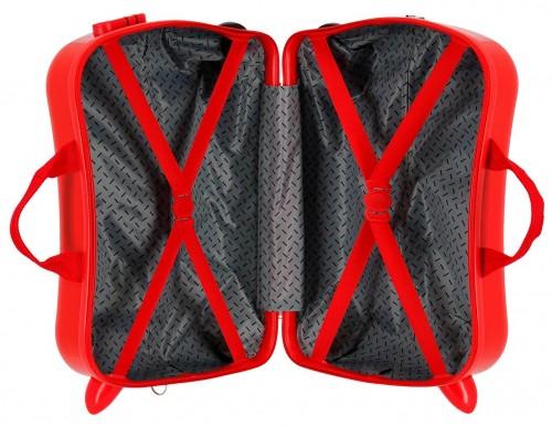 2419864 maleta infantil correpasillos spiderman geo rojo interior