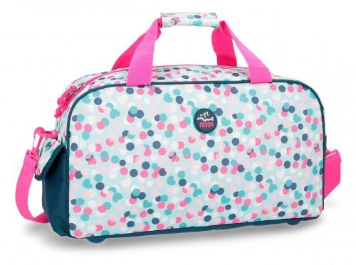 3163361 bolsa de viaje 45 cm movom confeti azul