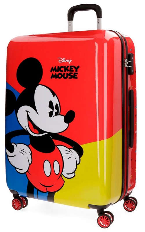 3288861 maleta mediana 4 ruedas  Mickey Red